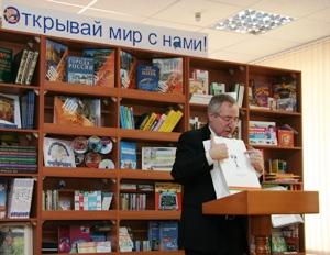 Е.И. Кузьмин передал в медиацентры Ставрополья комплект материалов по Национальной программе поддержки и развития чтения