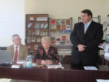 Министр культуры Правительства Калининградской области М.А. Андреев