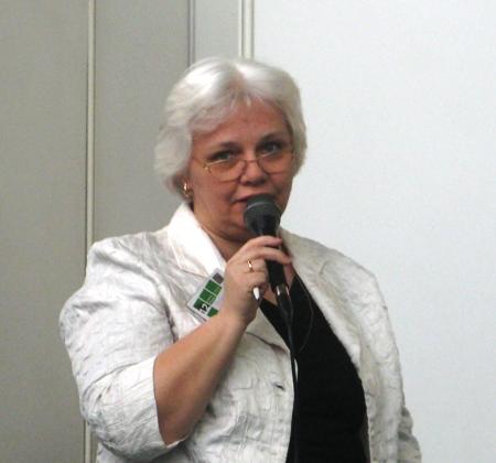 Громова О. К., главный редактор газеты «Библиотека в школе»