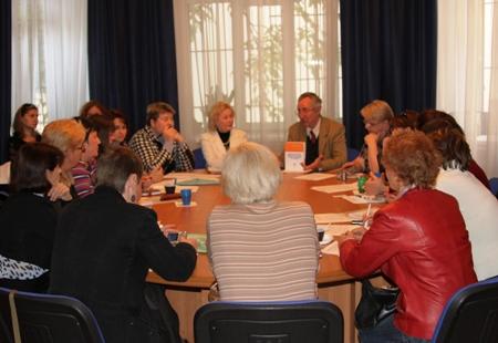Т. Я. Кузнецова и Е. И. Кузьмин открыли работу образовательного семинара